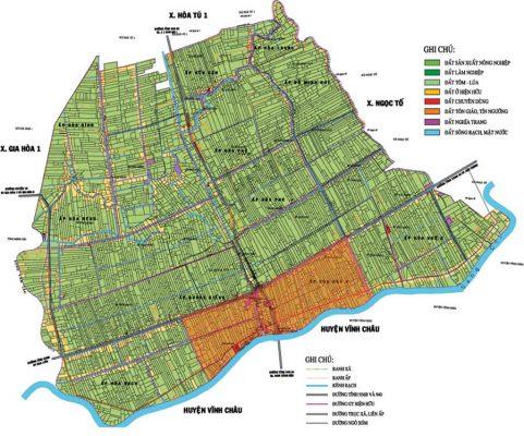 Mục đích của bản đồ địa chính