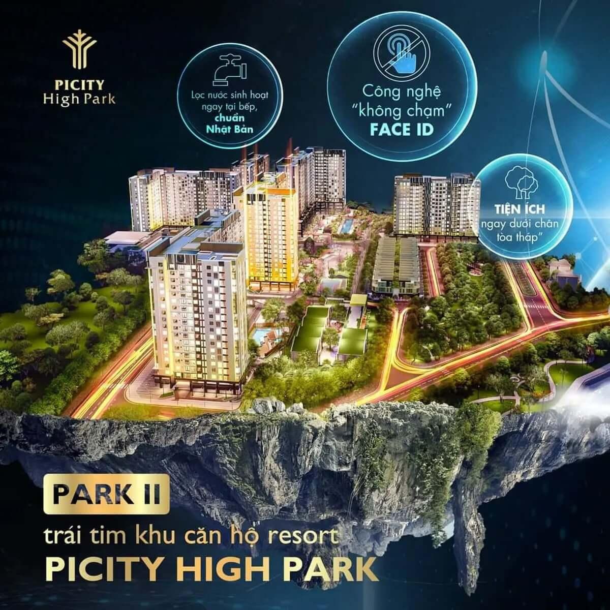 Tầm nhìn dự án Picity High Park