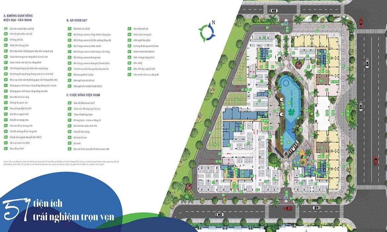 Tiện ích nội khu dự án Westgate
